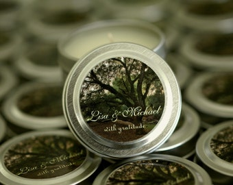 Wedding Soy Travel Candle Favor Gift Sample