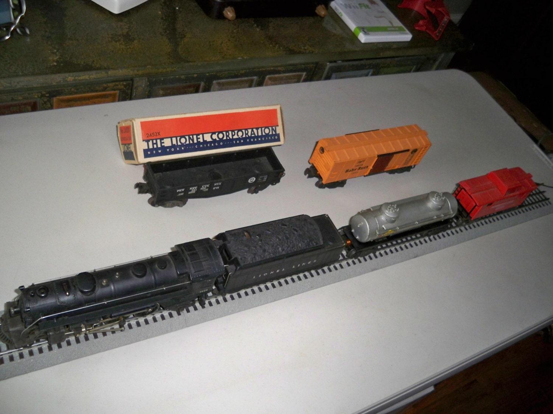 Excellent Vintage Postwar 1946 Lionel Train Set 1411w