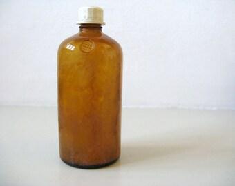Vintage Bottle of Pharmaceuticals