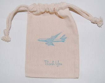 Airplane Party Favor Bags / Set of 35/ Just Plane Fun Party Favors
