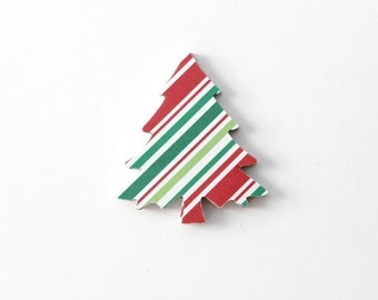 Christmas Tree Die Cuts - Christmas Holidays - Christmas Decor - Table Decoration