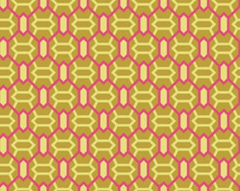 00041 - Joel Dewberry Heirloom collection- Marquis in gold color- Home Dec fabric  - 1 yard