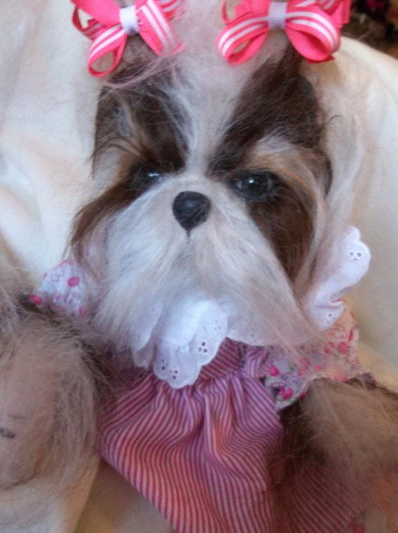 items similar to custom made to order reborn puppy art dog doll hand