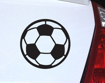 Soccer Ball Decal - for Laptop, Car