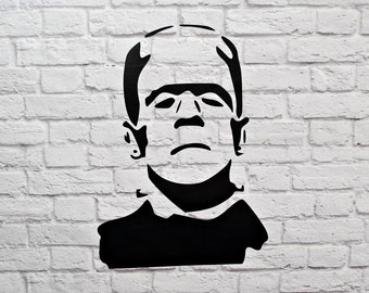 Frankenstein Halloween Vinyl Wall Decal