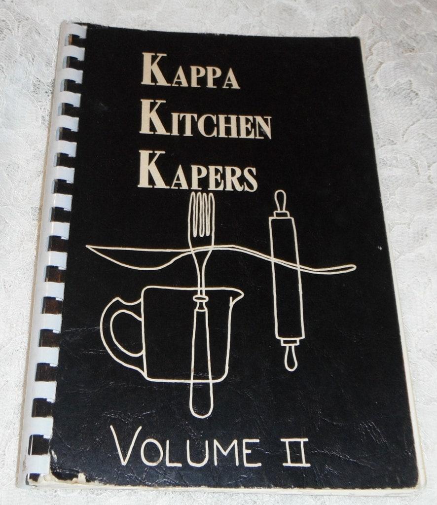 Kappa Kitchen Kapers Volume II Kentland by Starrylitvintage