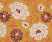 SALE - Bungalow - Maize Dahlia - Cotton Print Fabric by Joel Dewberry from Free Spirit