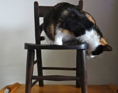 Reserved for Ed - Antique Child's Wooden Chair FF East and Co. Circa 1930s