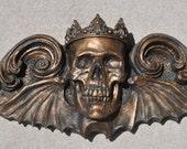 King Moriendi Wall Plaque, Bronze Finish