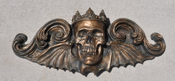 King Moriendi Wall Plaque, Bronze Finish