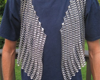 Gothic Stainless Steel Linked Vest