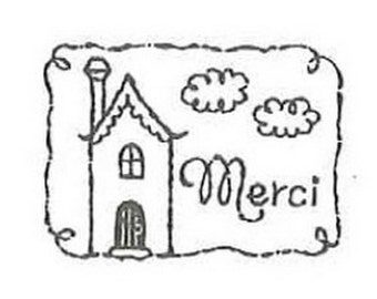 Wooden Rubber Stamp - Thanks Giving - 02 merci