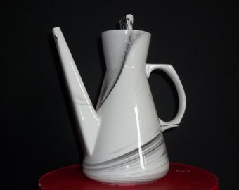 Vintage Art Deco Coffee Pot, Coffee Urn, Signed