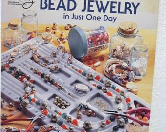 Learn to Make Bead Jewelry in Just One Day by Deborah Sekerak #8836. 1994