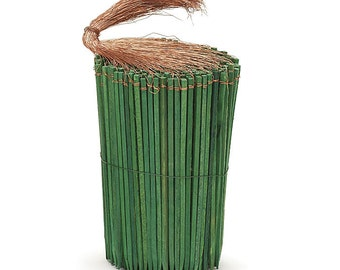 """6"""" Green Wooden Wired PICKS Florist Wood Stakes Floral Bows Crafts Supplies (Free Shipping!)"""