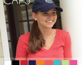 Monogrammed Adult Ball Cap, Ladies, Women