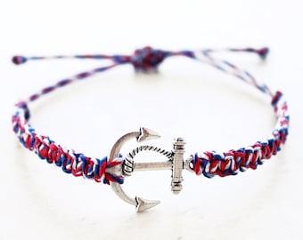 Anchor Bracelet - Hemp Bracelet - Hemp Jewelry
