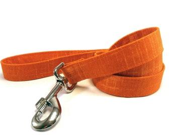Orange Dog Leash