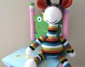 Crochet giraffe toy stuffed animal, softie, amigurumi, made to order FREE US SHIPPING
