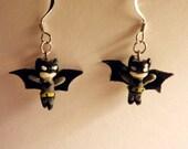 Little Batman Earrings