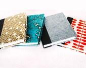 Assemble Crafting Kit: Hardcover Bookbinding in Gold Honeycomb Lokta Paper