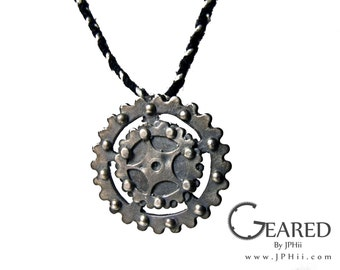 Layered Gear Necklace