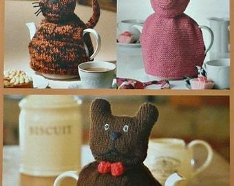 Small Dog Knitting Patterns : Animal tea cosy Etsy UK