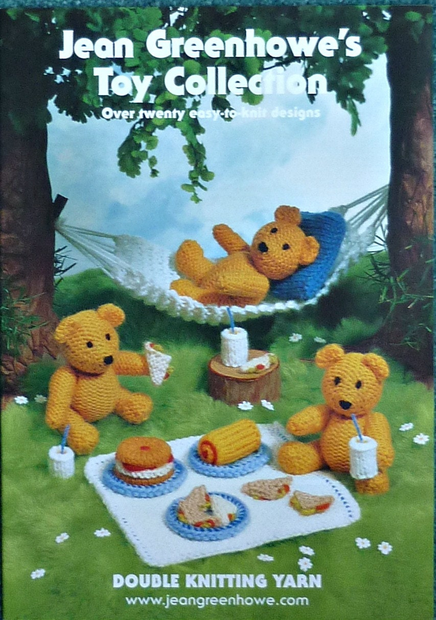 Knitting Pattern Books Toys : Soft Toy Knitting Pattern KNITTING BOOK Toy Collection