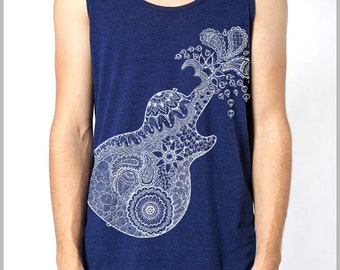 Guitar American Apparel Men's Women's Tank