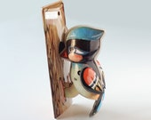 Wood Becker - Wind Up Toy / Metal Toy