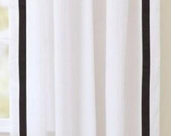 White Curtain Panels Etsy