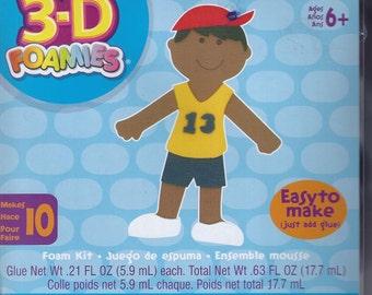 3-D Foamies Sports Doll Foam Kit