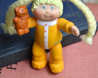 Vintage 1984 Mini Cabbage Patch Kids Hard Plastic Girl Doll
