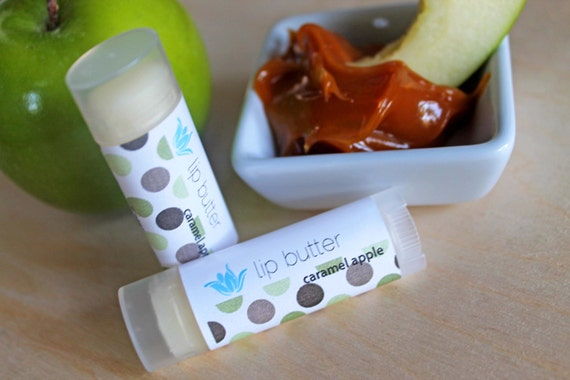 Caramel Apple lip butter, Fall 2013 Collection, natural vegan gluten-free lip balm