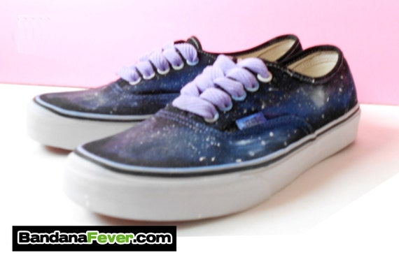 Vans Authentic Custom Custom Galaxy V...