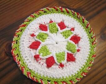 Crocheted Hot Pad