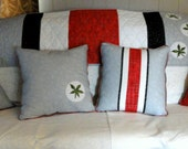 Stripes of Pride couch pillow