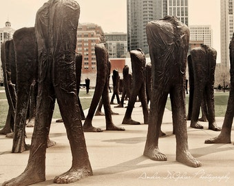 Agora - Chicago Art Installation Photography, Grant Park, Fine Art Photography