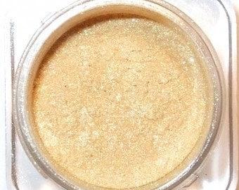 "Mineral Eye Shadow "" ENCHANTED "" Rich Gold - 3 grams or 5 Grams"