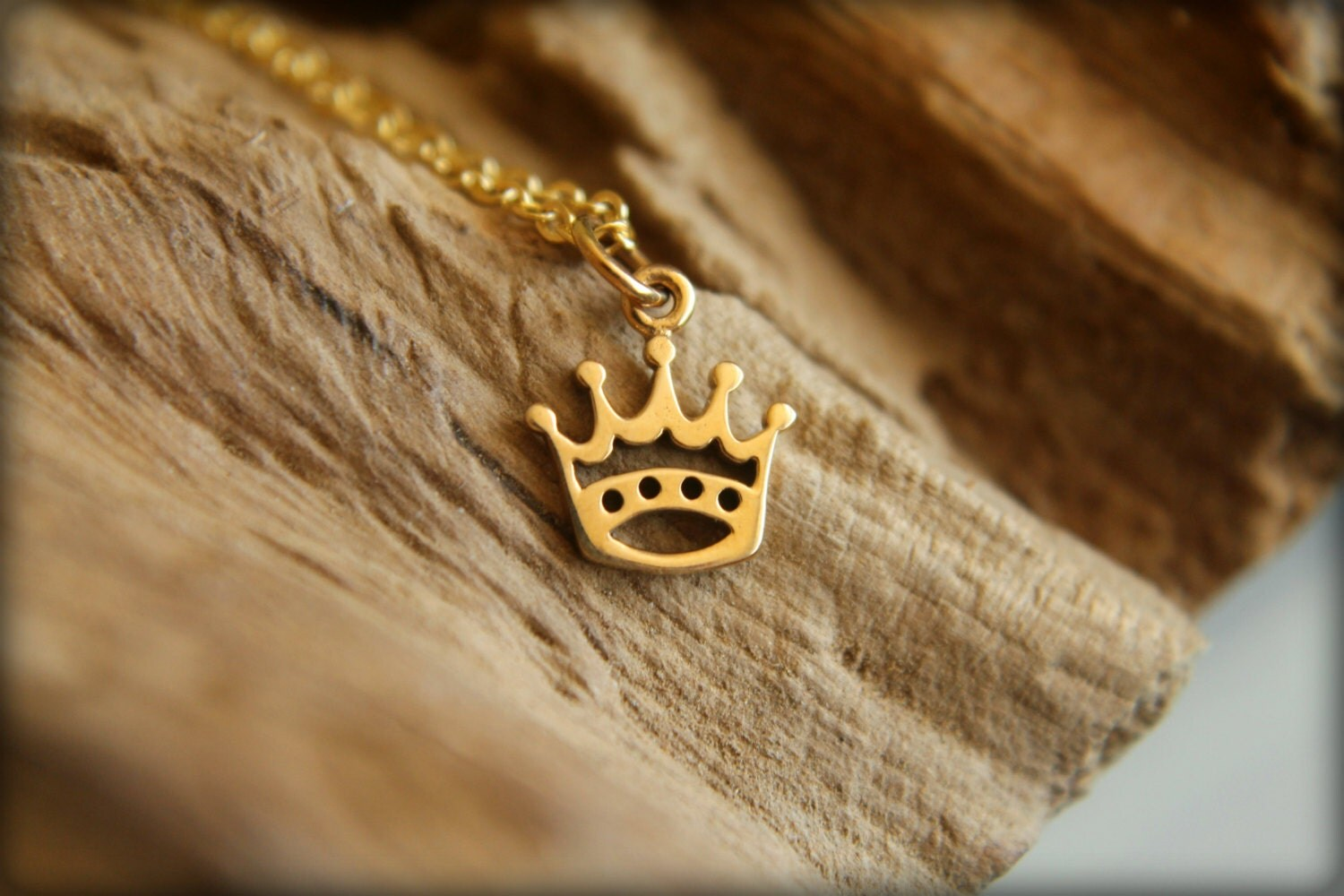 Five Point Crown Necklace Available In By Saffronandsaege