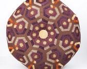 Dorm Room Decor- Droid Pouf Ottoman- Footstool- Floor Ottoman- The Droid- hexagonal- by beckyzimmdesign