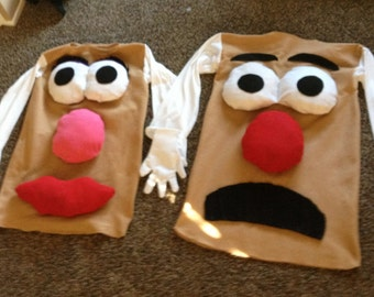 childs costume potato head mr. or mrs. twins, couples, or siblngs also in kids toddler