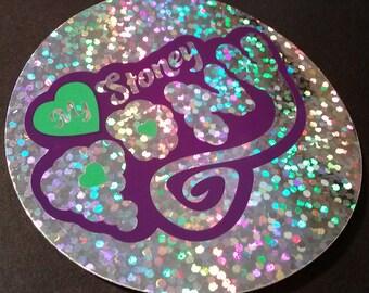 My Stoney Pony Sparkle Sticker