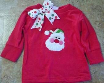 Santa Face Shirt