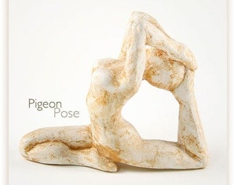 Yoga Art Sculpture - Gift for Yoga Lovers and practioners