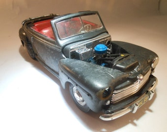 Ford Scale Model Car Black with Rust from Classicwrecks Movie
