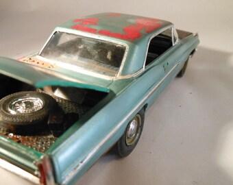 Classicwrecks, Rusted Scale Model, Junked Pontiac Car,1/24 Scale Model