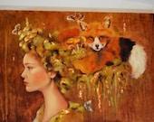 Custom portrait oil painting 24x18