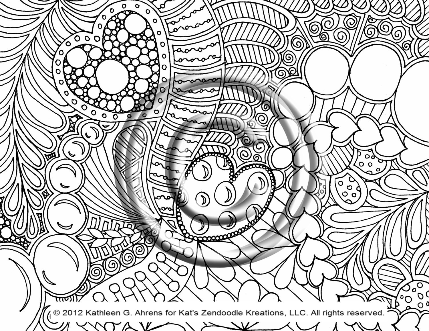 psychedelic hippie coloring page ntfd4 pages for kids 570x438 psychedelic - Psychedelic Hippie Coloring Pages