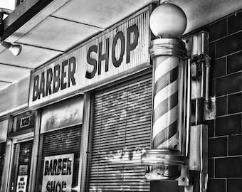 fort worth texas tcu texas christian university barber pole fox 39 s barber shop black and white. Black Bedroom Furniture Sets. Home Design Ideas
